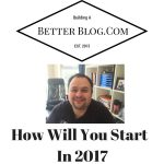 How Will You Start Off 2017