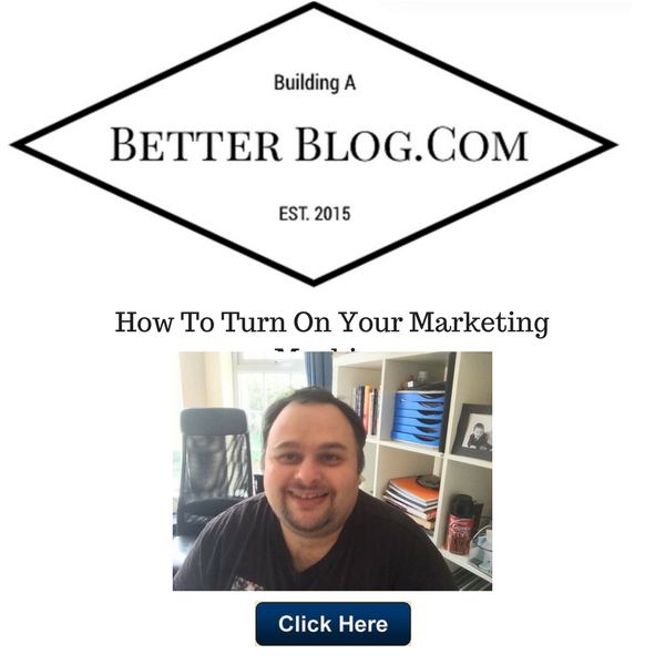 How To Turn On Your Marketing Machine