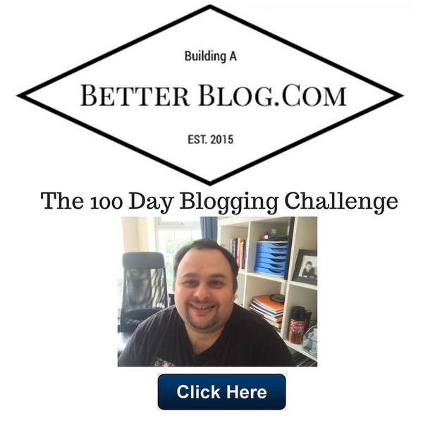 The 100 Day Blogging Challenge