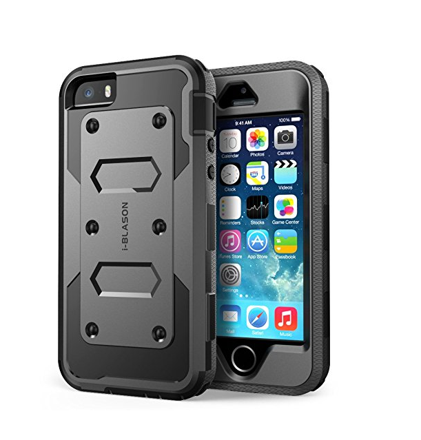 iPhone In Protective Cover
