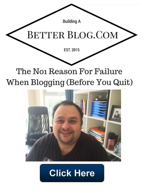 The No1 Reason For Failure When Blogging Before You quit